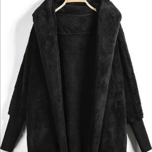 Teddy Coat Cardigan